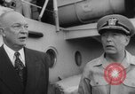 Image of President Dwight D Eisenhower Pacific Ocean, 1952, second 11 stock footage video 65675045421
