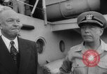 Image of President Dwight D Eisenhower Pacific Ocean, 1952, second 12 stock footage video 65675045421