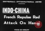 Image of French troops Vietnam French Indo China, 1952, second 6 stock footage video 65675045434