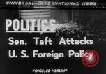 Image of Robert A Taft New York United States USA, 1952, second 1 stock footage video 65675045435