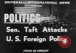 Image of Robert A Taft New York United States USA, 1952, second 4 stock footage video 65675045435