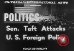 Image of Robert A Taft New York United States USA, 1952, second 5 stock footage video 65675045435