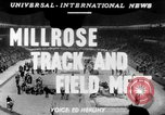 Image of 45th Millrose Games New York United States USA, 1952, second 1 stock footage video 65675045436