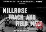 Image of 45th Millrose Games New York United States USA, 1952, second 2 stock footage video 65675045436
