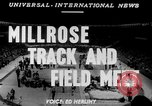 Image of 45th Millrose Games New York United States USA, 1952, second 3 stock footage video 65675045436