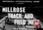 Image of 45th Millrose Games New York United States USA, 1952, second 4 stock footage video 65675045436