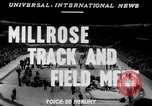 Image of 45th Millrose Games New York United States USA, 1952, second 6 stock footage video 65675045436