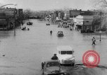 Image of destruction by flood United States USA, 1952, second 7 stock footage video 65675045439