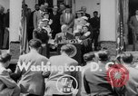 Image of President Truman Washington DC USA, 1952, second 3 stock footage video 65675045440