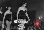 Image of Miss Hellas Greece, 1952, second 3 stock footage video 65675045441