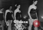 Image of Miss Hellas Greece, 1952, second 4 stock footage video 65675045441