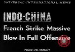 Image of French troops Vietnam French Indo China, 1953, second 1 stock footage video 65675045444