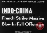 Image of French troops Vietnam French Indo China, 1953, second 2 stock footage video 65675045444