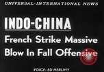 Image of French troops Vietnam French Indo China, 1953, second 3 stock footage video 65675045444
