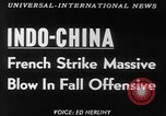 Image of French troops Vietnam French Indo China, 1953, second 5 stock footage video 65675045444
