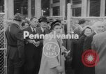 Image of President Dwight D Eisenhower Pennsylvania United States USA, 1953, second 2 stock footage video 65675045446
