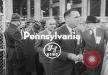 Image of President Dwight D Eisenhower Pennsylvania United States USA, 1953, second 4 stock footage video 65675045446