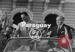 Image of President Juan Peron Paraguay, 1953, second 2 stock footage video 65675045447
