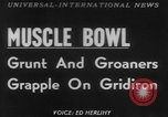 Image of Tacoma's Muscle Bowl Washington State United States USA, 1953, second 1 stock footage video 65675045451