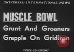 Image of Tacoma's Muscle Bowl Washington State United States USA, 1953, second 2 stock footage video 65675045451