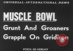 Image of Tacoma's Muscle Bowl Washington State United States USA, 1953, second 4 stock footage video 65675045451
