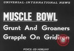 Image of Tacoma's Muscle Bowl Washington State United States USA, 1953, second 5 stock footage video 65675045451