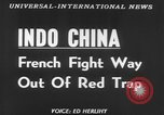 Image of French troops Vietnam French Indo China, 1953, second 2 stock footage video 65675045453