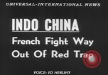 Image of French troops Vietnam French Indo China, 1953, second 3 stock footage video 65675045453