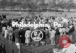 Image of Virgin Mary Philadelphia Pennsylvania USA, 1953, second 4 stock footage video 65675045456