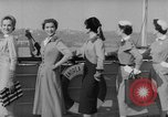 Image of American models New York United States USA, 1953, second 9 stock footage video 65675045458