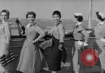 Image of American models New York United States USA, 1953, second 10 stock footage video 65675045458