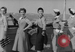 Image of American models New York United States USA, 1953, second 11 stock footage video 65675045458