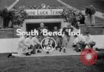 Image of Terry Brennan South Bend Indiana USA, 1954, second 1 stock footage video 65675045471