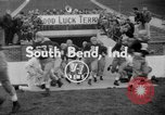 Image of Terry Brennan South Bend Indiana USA, 1954, second 2 stock footage video 65675045471