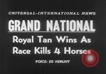 Image of Grand National Steeplechase United Kingdom, 1954, second 3 stock footage video 65675045473