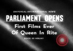 Image of Queen Elizabeth London England United Kingdom, 1955, second 3 stock footage video 65675045475