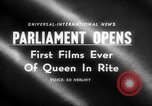Image of Queen Elizabeth London England United Kingdom, 1955, second 4 stock footage video 65675045475