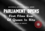 Image of Queen Elizabeth London England United Kingdom, 1955, second 5 stock footage video 65675045475