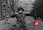 Image of hula hoops Germany, 1955, second 9 stock footage video 65675045477