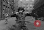 Image of hula hoops Germany, 1955, second 10 stock footage video 65675045477