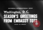 Image of American children Washington DC USA, 1958, second 1 stock footage video 65675045483