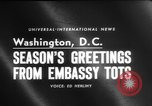 Image of American children Washington DC USA, 1958, second 2 stock footage video 65675045483