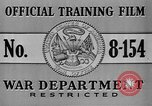 Image of United States soldiers United States USA, 1941, second 5 stock footage video 65675045495