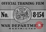 Image of United States soldiers United States USA, 1941, second 6 stock footage video 65675045495