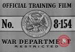 Image of United States soldiers United States USA, 1941, second 7 stock footage video 65675045495