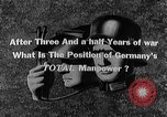 Image of German manpower Germany, 1943, second 9 stock footage video 65675045525