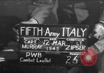 Image of army interrogator Italy, 1945, second 1 stock footage video 65675045526