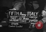 Image of army interrogator Italy, 1945, second 3 stock footage video 65675045526