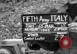 Image of German soldiers Italy, 1945, second 2 stock footage video 65675045527