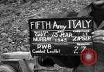 Image of German soldiers Italy, 1945, second 3 stock footage video 65675045527